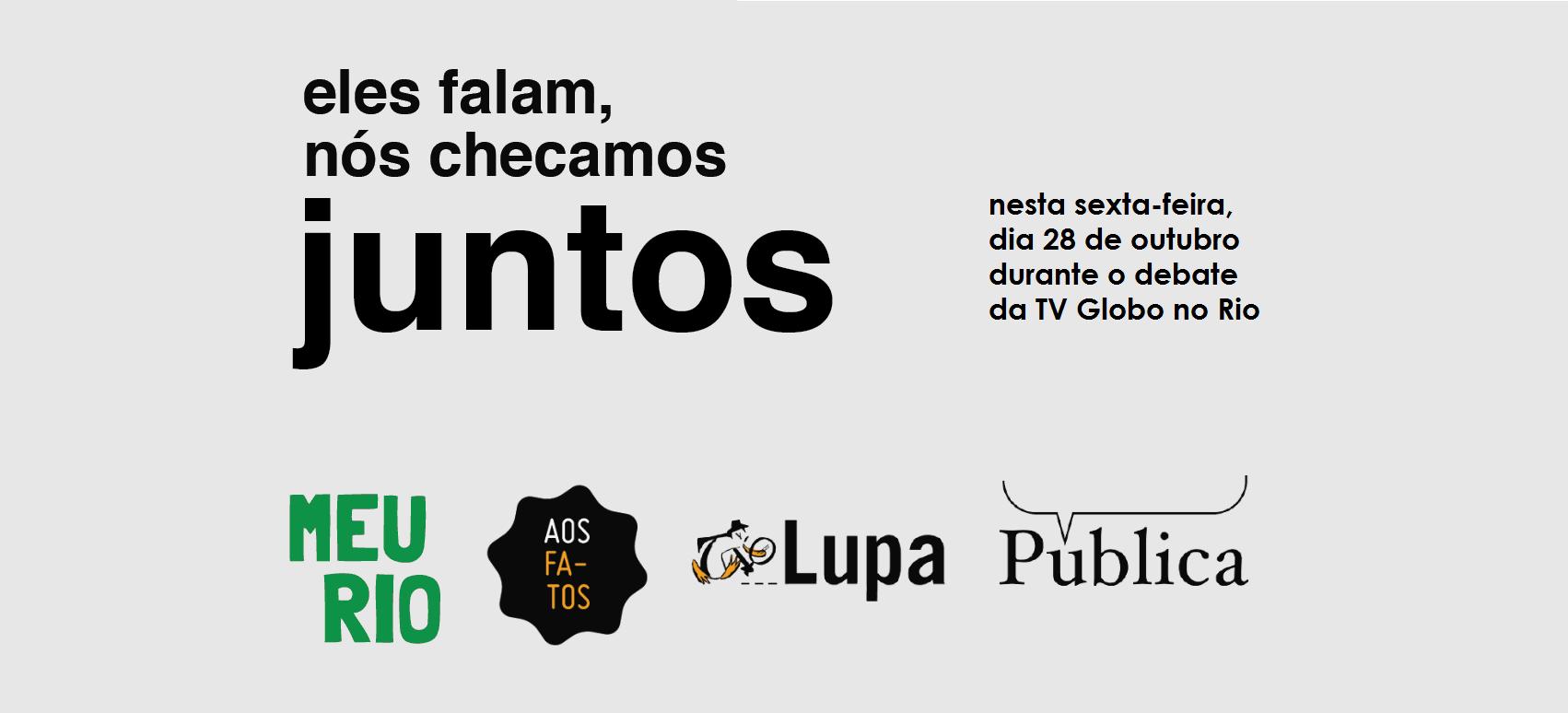 Cristina Tardáguila, diretora da Agência Lupa e membro do Poynter's International Fact-Checking Network, disse que ela teve a ideia da iniciativa após ler sobre projetos colaborativos de plataformas de checagem de dados.