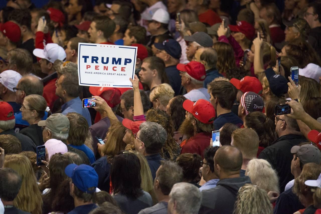 Trump foi eleito com forte apoio da classe média e o setor publicitário avalia se perdeu contato com essas pessoas. PHOTO: TY WRIGHT/GETTY IMAGES