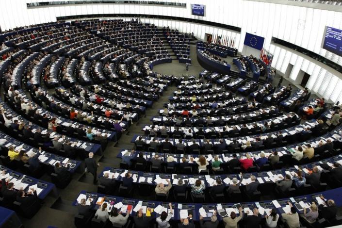 A votação sobre a estratégia de comunicação contra a propaganda realizou-se hoje no Parlamento EuropeuCréditos / orientpress.hu