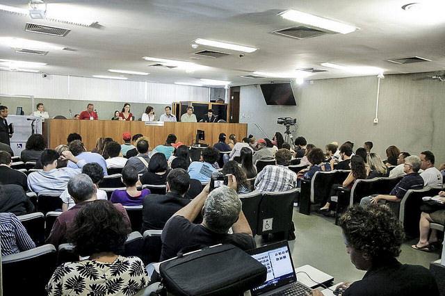 A atividade aconteceu na ALMG, em Belo Horizonte, na tarde da última terça-feira (13) / Mídia NINJA