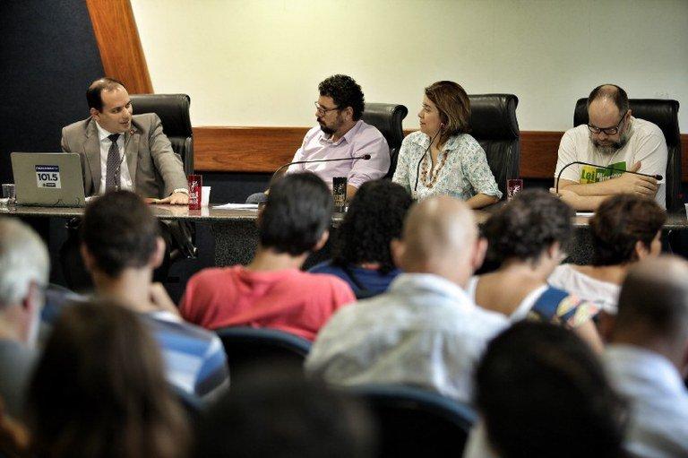 Audiência pública realizada na semana passada discutiu a precariedade da Rádio Frei Caneca e da Empresa Pernambuco de Comunicação. Foto: Beto Figueiroa