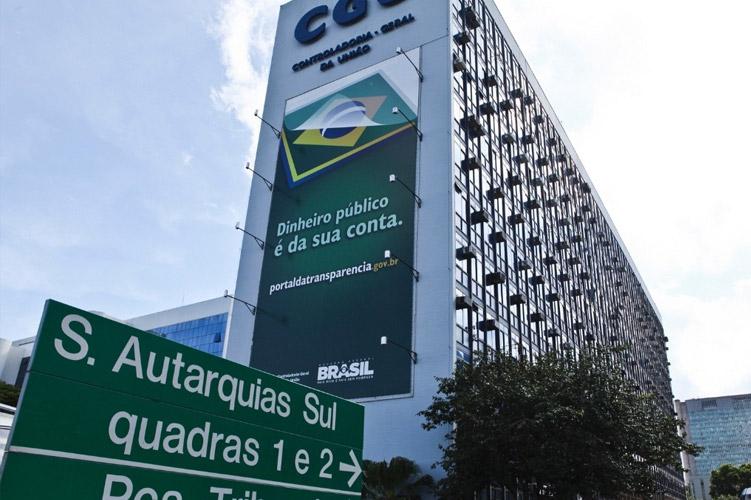 Prédio da Controladoria Geral da União, em Brasília